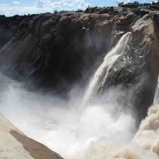voyage moto afrique du sud Augrabies Falls