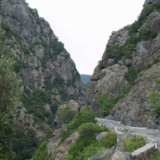 road trip moto corse defile inzecca